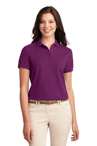 L500 - L500 - Port Authority Ladies Silk Touch Polo