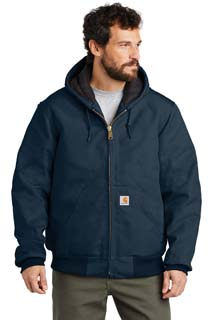 CTSJ140 - CTSJ140 - Carhartt Quilted-Flannel-Lined Duck Active Jac